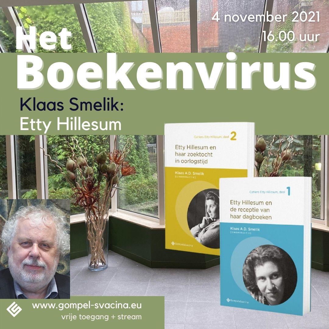 Presentatie van de Cahiers Etty Hillesum op 4 november 2021